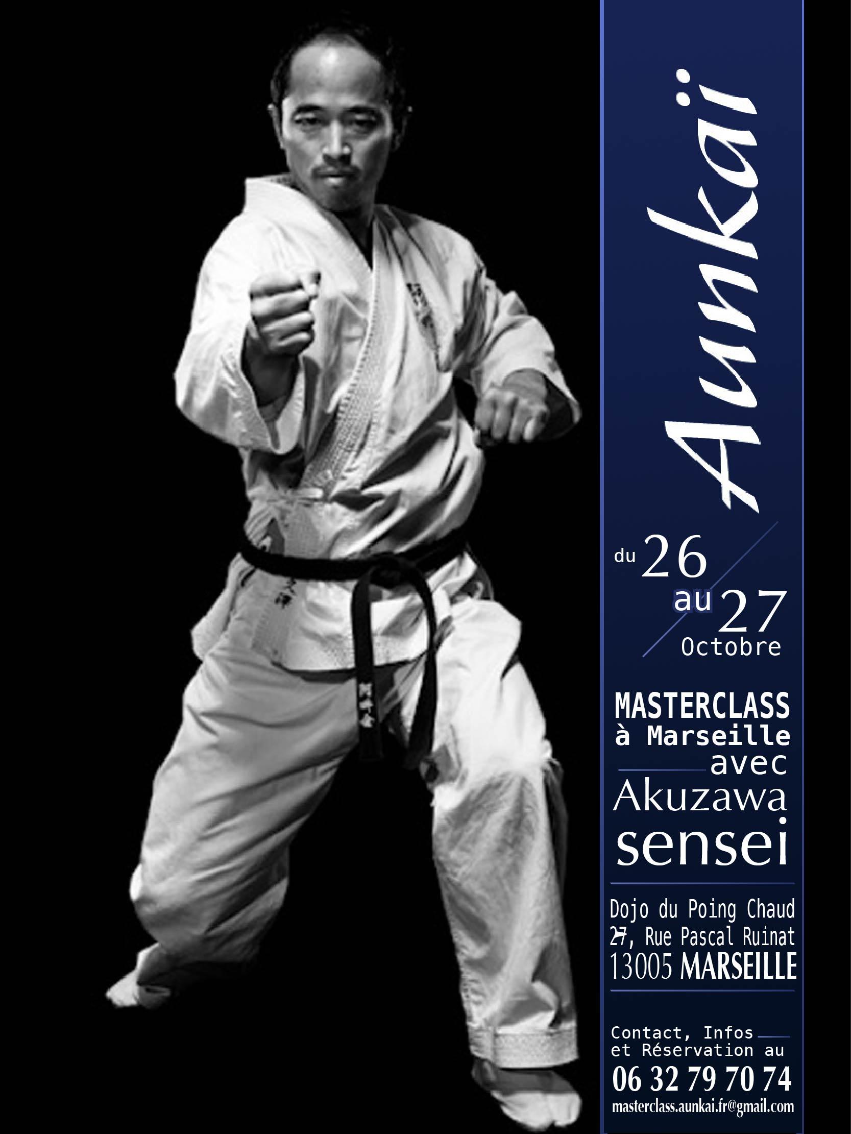Première Aunkai Masterclass à Marseille